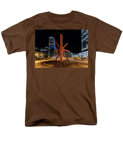 Men's T-Shirt  (Regular Fit) featuring the photograph Calling After Sundown by Randy Scherkenbach