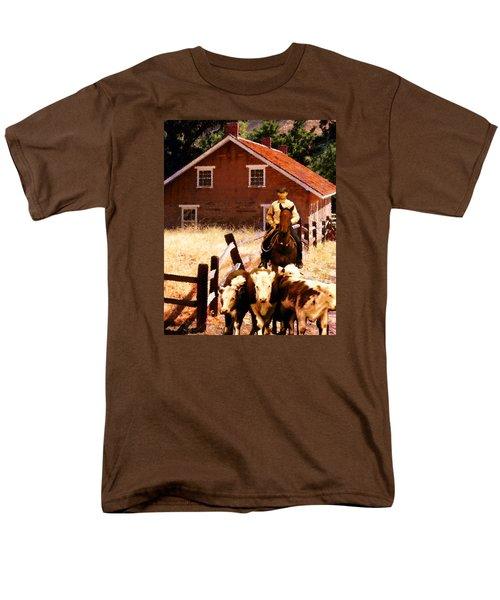 Calves Men's T-Shirt  (Regular Fit) by Timothy Bulone