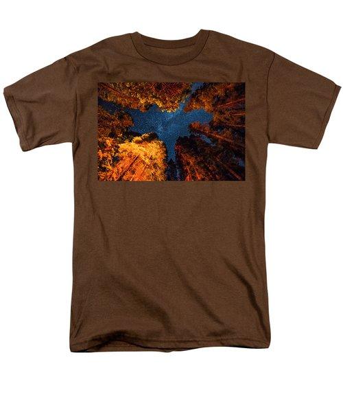 Camping Under The Stars  Men's T-Shirt  (Regular Fit) by Alpha Wanderlust