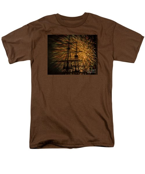 Canal Day Fireworks Finale Men's T-Shirt  (Regular Fit) by JT Lewis