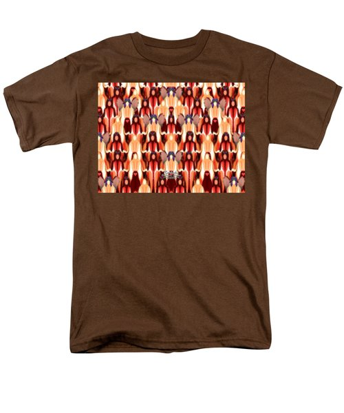 Candle Inspired #1173-8 Men's T-Shirt  (Regular Fit) by Barbara Tristan