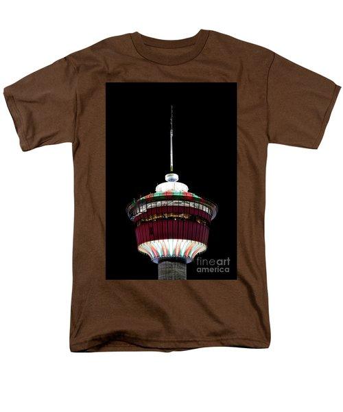Men's T-Shirt  (Regular Fit) featuring the photograph Candy Cane Tower by Brad Allen Fine Art