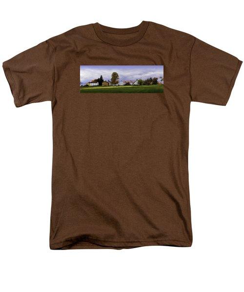 Canterbury Shaker Village Nh Men's T-Shirt  (Regular Fit) by Betty Denise