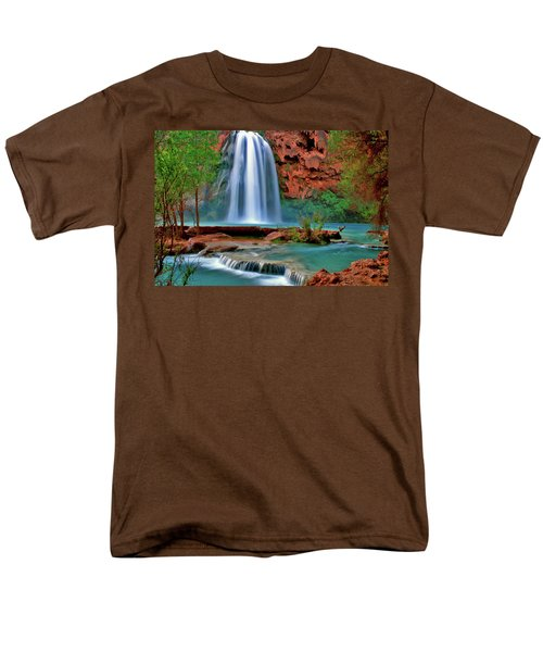 Canyon Falls Men's T-Shirt  (Regular Fit) by Scott Mahon