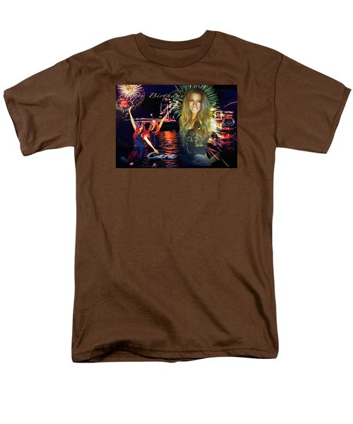 Men's T-Shirt  (Regular Fit) featuring the photograph Cara Earth Angels Birthday by Glenn Feron