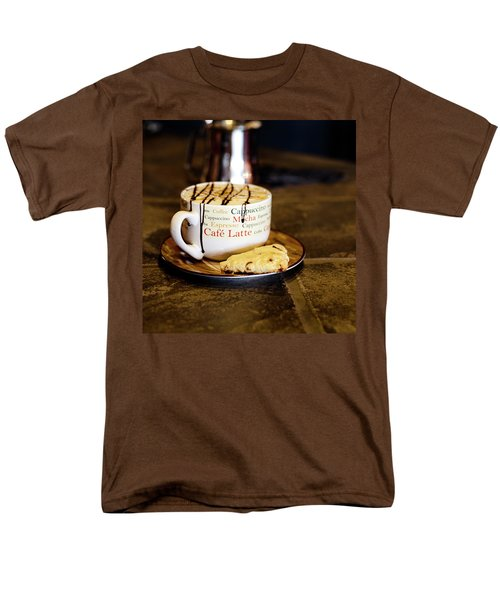 Caramel Macchiato With Scone Men's T-Shirt  (Regular Fit)
