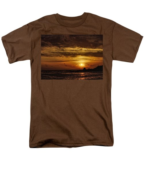 Carmel Sunset Men's T-Shirt  (Regular Fit) by Michael McGowan