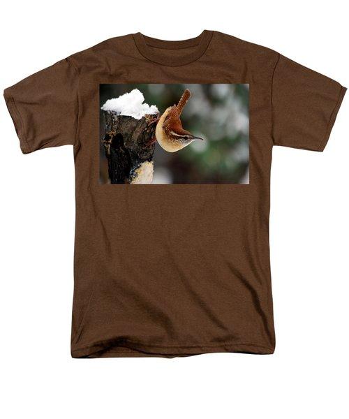 Carolina At The Suet Post Men's T-Shirt  (Regular Fit) by Skip Willits