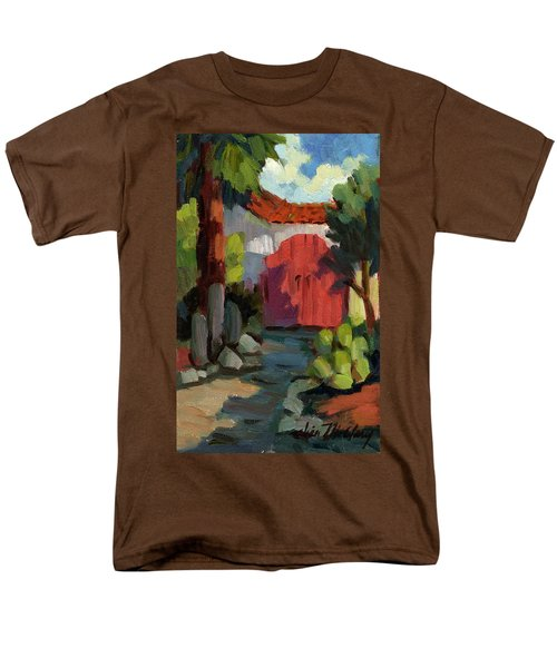 Casa Tecate Gate Men's T-Shirt  (Regular Fit) by Diane McClary