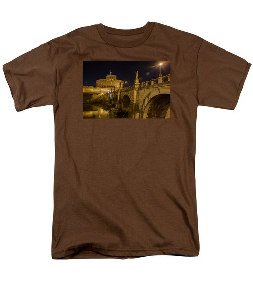Castel Sant'angelo Men's T-Shirt  (Regular Fit) by Ed Cilley