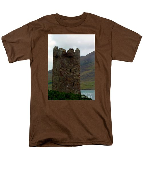 Castle Of The Pirate Queen Men's T-Shirt  (Regular Fit) by Patricia Griffin Brett