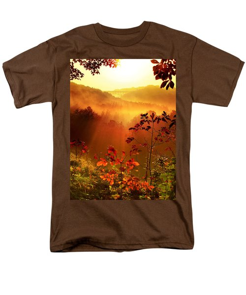 Cathedral Of Light - Special Crop Men's T-Shirt  (Regular Fit) by Rob Blair
