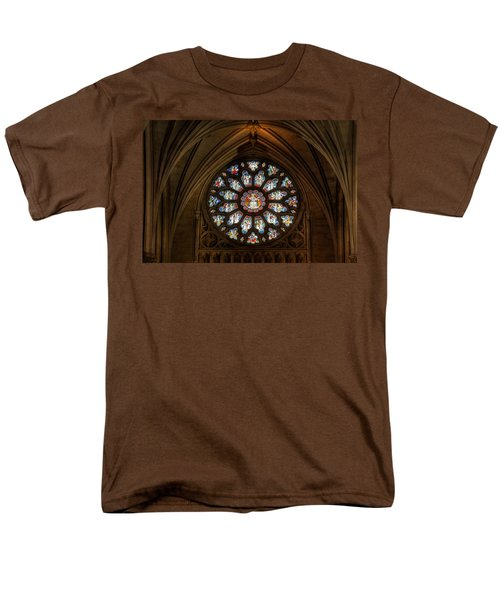 Cathedral Window Men's T-Shirt  (Regular Fit) by Adrian Evans