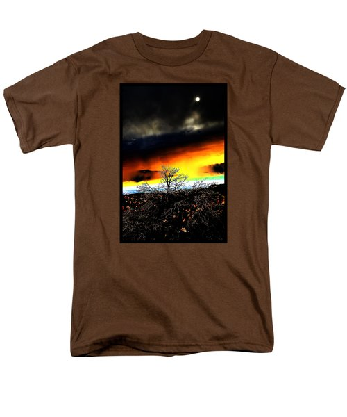Men's T-Shirt  (Regular Fit) featuring the photograph Celestial Tsunamis by Susanne Still