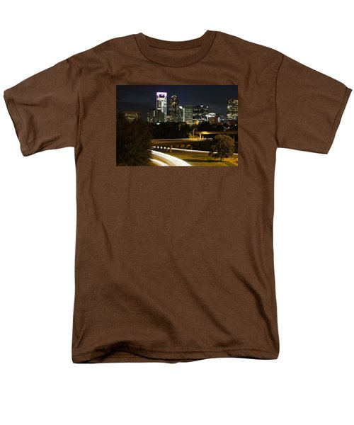 Charlotte's Skyline Men's T-Shirt  (Regular Fit) by Demetrai Johnson