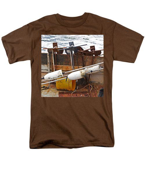 Men's T-Shirt  (Regular Fit) featuring the photograph Chatham Fishing by Charles Harden