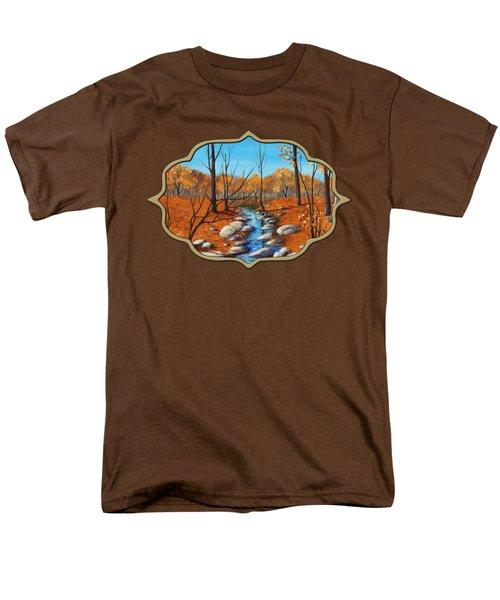 Cheerful Fall Men's T-Shirt  (Regular Fit)