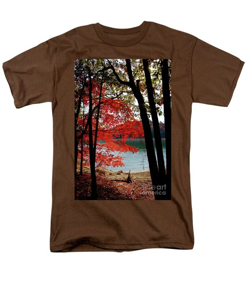 Men's T-Shirt  (Regular Fit) featuring the photograph Cherokee Lake Color by Douglas Stucky