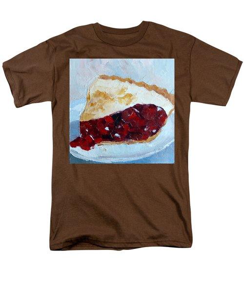 Cherry Pi Men's T-Shirt  (Regular Fit) by Susan Woodward