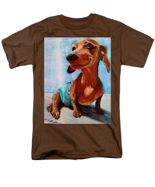 Chestnut Men's T-Shirt  (Regular Fit)