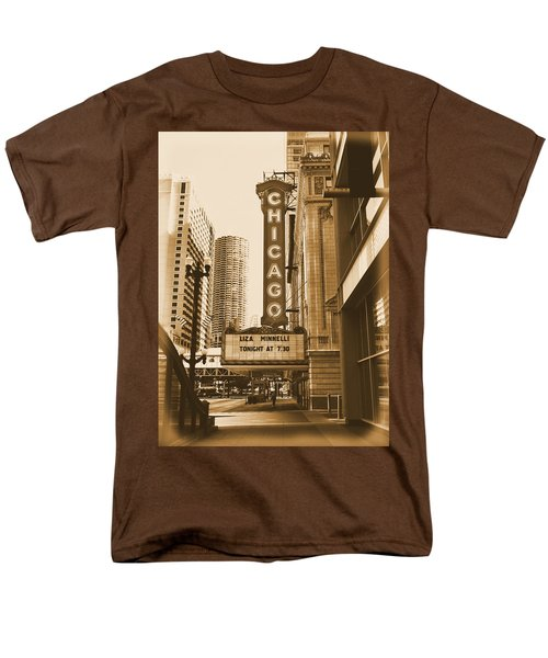 Chicago Theater - 3 Men's T-Shirt  (Regular Fit) by Ely Arsha