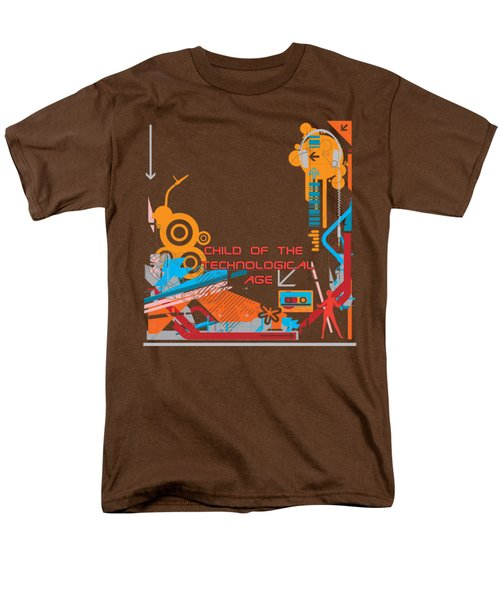 Child Of The Technological Age Men's T-Shirt  (Regular Fit) by Paulette B Wright