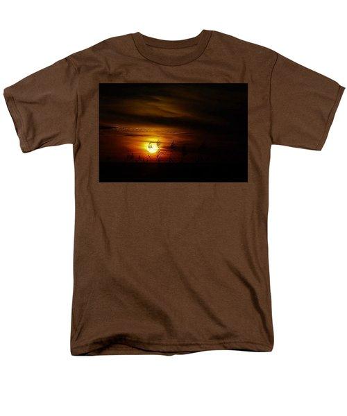Men's T-Shirt  (Regular Fit) featuring the photograph Chocolate  Sunset by John Glass