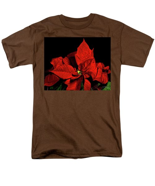 Christmas Fire Men's T-Shirt  (Regular Fit) by Christopher Holmes