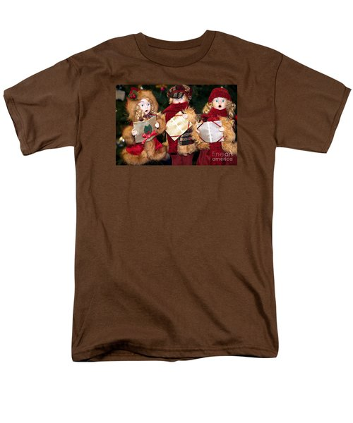 Men's T-Shirt  (Regular Fit) featuring the photograph Christmas Trio by Vinnie Oakes