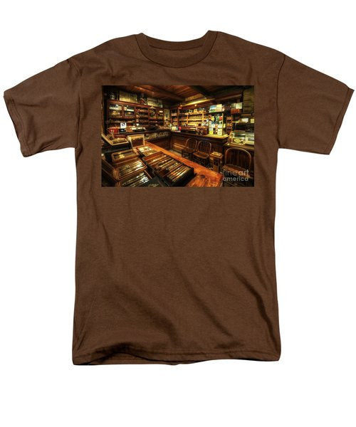 Cigar Shop Men's T-Shirt  (Regular Fit) by Yhun Suarez