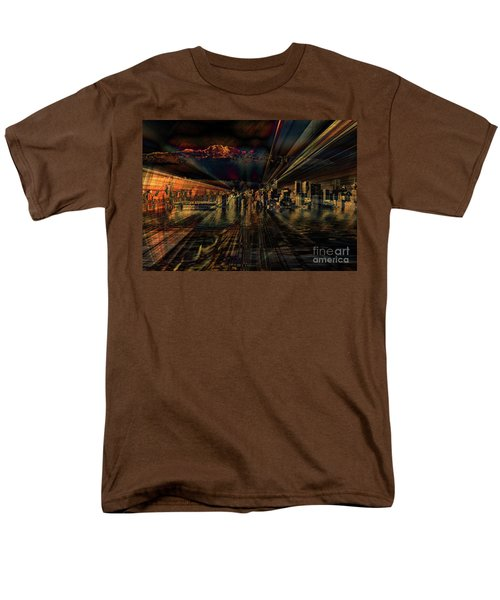 Cityscape Men's T-Shirt  (Regular Fit) by Elaine Hunter