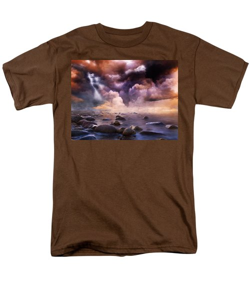 Clash Of The Clouds Men's T-Shirt  (Regular Fit) by Gabriella Weninger - David