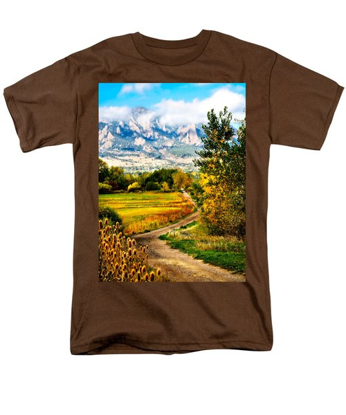 Clearly Colorado Men's T-Shirt  (Regular Fit)