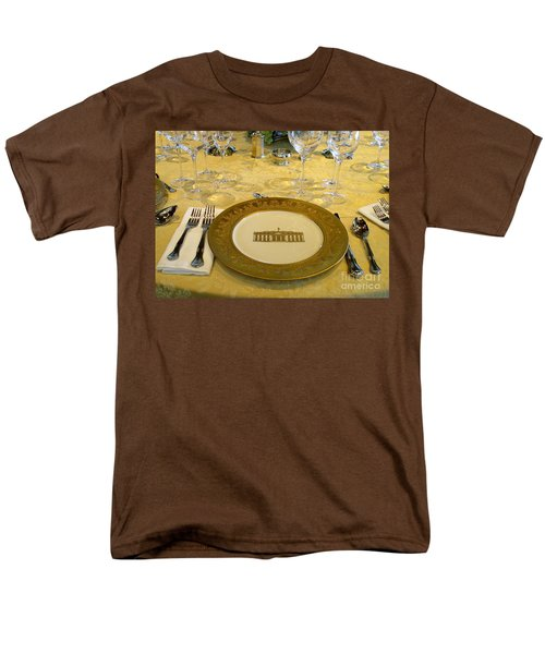 Clinton State Dinner 2 Men's T-Shirt  (Regular Fit) by Randall Weidner