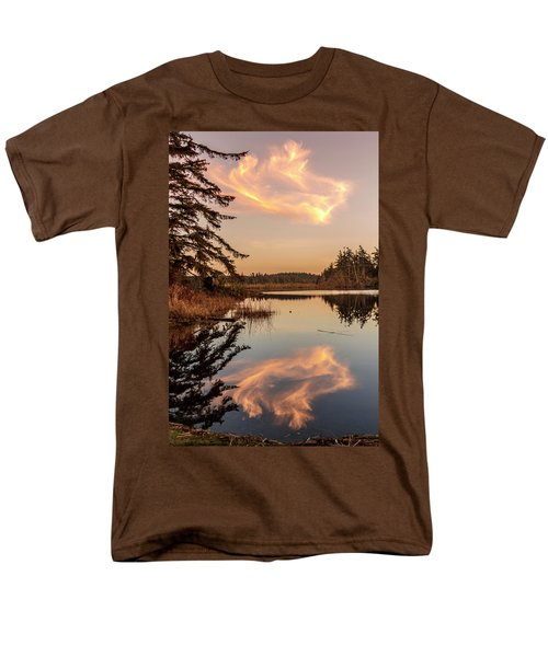 Cloud On Cranberry Lake Men's T-Shirt  (Regular Fit) by Tony Locke
