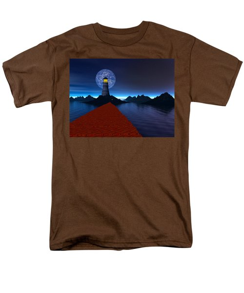 Coast Men's T-Shirt  (Regular Fit) by Mark Blauhoefer