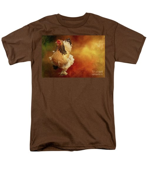 Cochin Chicken Men's T-Shirt  (Regular Fit) by Eva Lechner