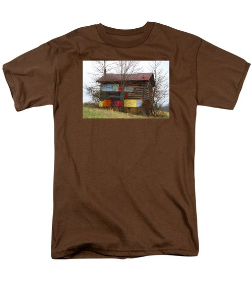 Colorful Barn Men's T-Shirt  (Regular Fit)