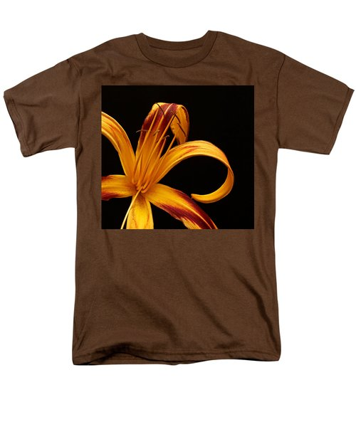 Men's T-Shirt  (Regular Fit) featuring the photograph Colorful Curls by Judy Vincent