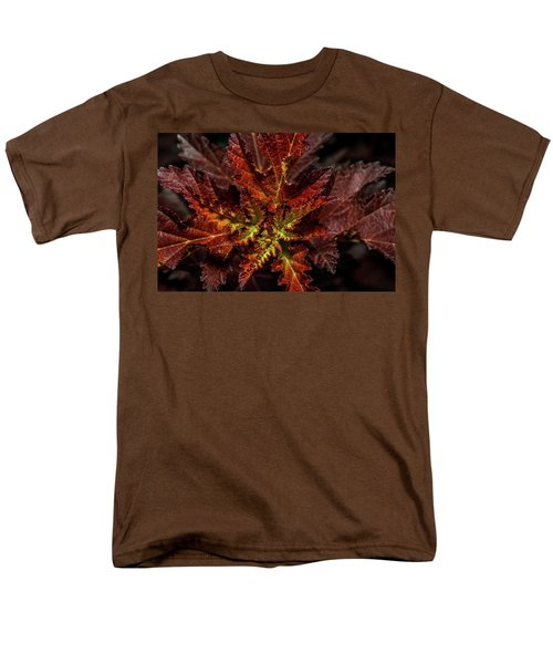 Men's T-Shirt  (Regular Fit) featuring the photograph Colorful Leaves by Paul Freidlund