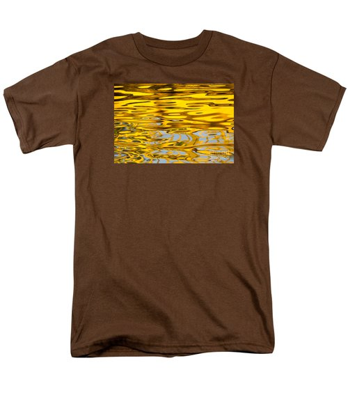 Colorful Reflection In The Water Men's T-Shirt  (Regular Fit) by Odon Czintos