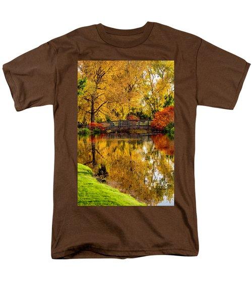 Colorful Reflections Men's T-Shirt  (Regular Fit) by Kristal Kraft