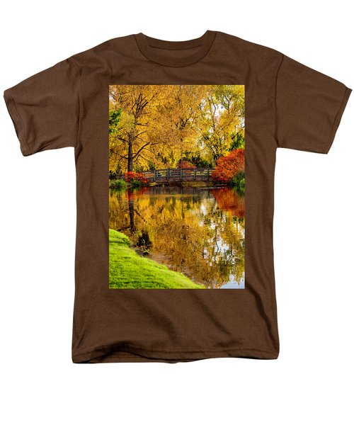 Colorful Reflections Men's T-Shirt  (Regular Fit)