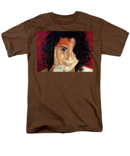 Commision Men's T-Shirt  (Regular Fit) by Manuel Sanchez