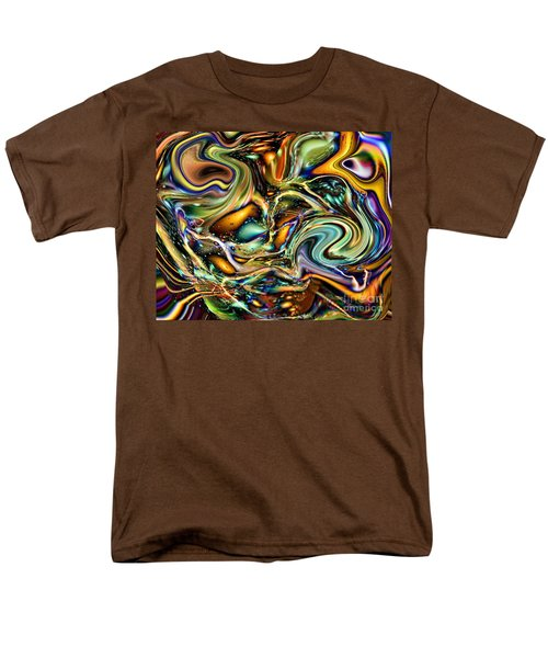 Commotion In The Motion Vii Men's T-Shirt  (Regular Fit) by Jim Fitzpatrick