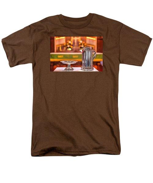 Communion Silver 1800 Men's T-Shirt  (Regular Fit) by Jim Proctor