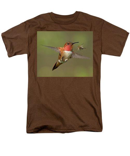 Confrontation Men's T-Shirt  (Regular Fit) by Sheldon Bilsker