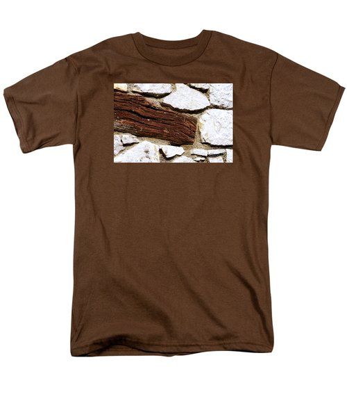 Constriction Men's T-Shirt  (Regular Fit) by Leo Symon