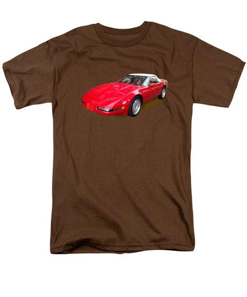 Corvette Men's T-Shirt  (Regular Fit) by Eric Schiabor