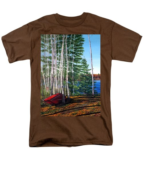 Cottage Country Men's T-Shirt  (Regular Fit) by Marilyn McNish